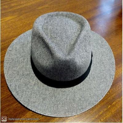 Chapéu Pralana Austrália Mescla Cotton Preto